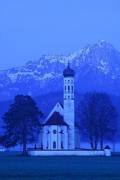 St. Coloman at 05:28 a.m. - Bavaria, Germany