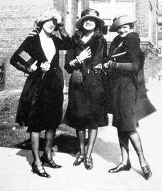 Evelyn, Verona, and Bunny Boucher, c. 1922