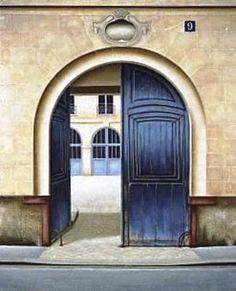 La porte-cochère, fermée ou ouverte ?