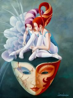 20 Beautiful oil paintings by Jean Claude - Harmony, Relaxation and Fantasy Art And Illustration, Henri Matisse, Galerie Art Paris, Illustrator, Art Fantaisiste, Art Gallery, Surrealism Painting, Arte Pop, French Artists