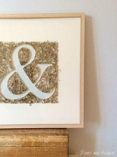 Paperolles : 'Esperluette' Tableau exposé à la Biennale du Design de St Étienne - 2015