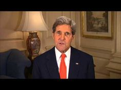 """February 12, 2014: Smithsonian, Nat'l Park Service, and the State Dept. are hosting a """"Diplomacy in Action"""" conference for students and teachers. Check out this """"Welcome"""" from United States Secretary of State, John Kerry - YouTube"""