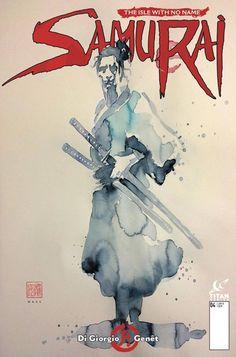 Samurai #4 (of 8), Mack Cover