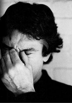Robert De Niro, le conocí en El Puente de San Luis y me pareció un tipo muy inteligente, pero tímido, muy tímido...