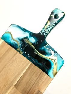 Image of Cheeseboard - paddle style handle