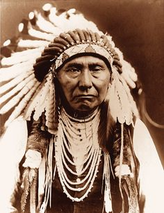Chief Joseph by Edward S. Curtis By now we all should have read his proclamation of a century or so ago; for we are all living in the world he foretold- if not look it up.