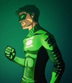 Green Lantern (Kyle Rayner) by Eric Irish