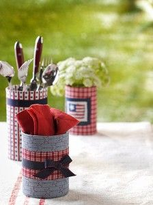 Country Woman Crafts | Patriotic Crafts | Recycled Crafts | Summer Crafts — Country Woman Magazine