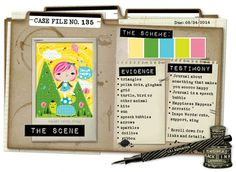 Case File No. 135 {Case closes on August 24, 2014} - CSI: Color, Stories, Inspiration