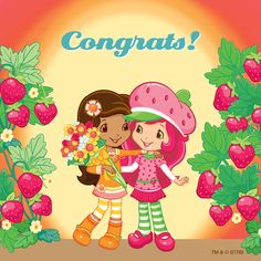 Congratulations on making it to Friday! Strawberry Shortcake Pictures, Strawberry Shortcake Characters, Strawberry Shortcake Doll, Raspberry Torte, Strawberry Decorations, Human Drawing, Coloring Book Pages, Blue Berry Muffins, Orange Blossom