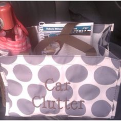 Thirty-one All-in-One organizer .... Great for all your car clutter!