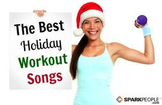 Love Christmas music?? Get in the holiday fitness spirit with these fun tunes! 30 Workout-Worthy Christmas Songs | via @SparkPeople #exercise #holiday #motivation Fitness Diet, Fitness Motivation, Fitness Music, Fitness Quotes, The Jackson Five, Workout Songs, Workouts, Exercises, Holiday Workout