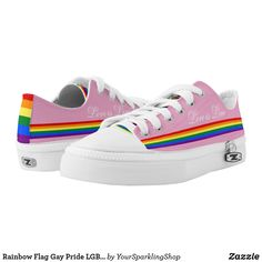 Wear-Resistant Traveling Sneaker Rainbow Hearts Gay Pride Flag Colored Stylish Women Girls Cool Track Running Shoes