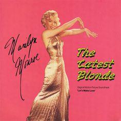 "'Marilyn Monroe: The Latest Blonde' - 12"" Vinyl LP Record. 'Let's Make Love' original motion picture soundtrack."