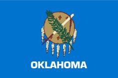 Posted on November 2016 The capital of Oklahoma is Oklahoma City. The largest city of Oklahoma is Oklahoma City. And people who . Us States Flags, U.s. States, United States, Oklahoma State Flag, Oklahoma Tornado, Shawnee Oklahoma, Oklahoma City National Memorial, Ohio, Indian Territory