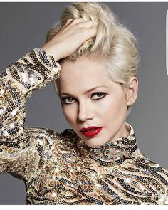 Who went pixie because of her??? Michelle Williams.