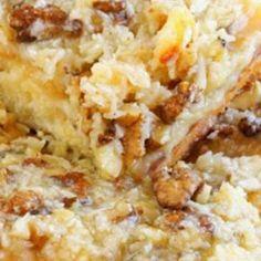 Cake Mix Italian Cream Cake Recipe | Just A Pinch Recipes