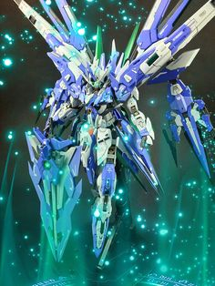 Custom Build: MG 1/100 Gundam 00 Amazing QAN [T] [GBWC 2017] - Gundam Kits Collection News and Reviews