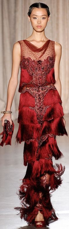 Marchesa 2013 (#FashionSerendipity #fashion #style #designer Fashion and Designer Style