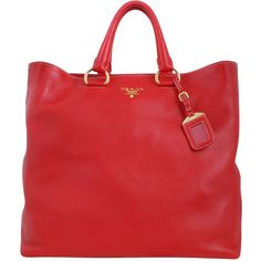 Prada Calf Leather Tote Bag | wearables | Pinterest | Prada, Calf ...