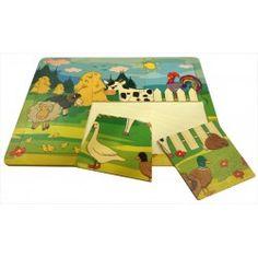 Witajcie ponownie, coś dla 3 latków od polskiego producenta zabawek Pilch.   Pilch 110183 - Drewniane Puzzle Farma składające się 6 elementów.   Co przedstawia obrazek po złożeniu? Sprawdźcie sami  #pilch #puzzle #farma #drewniane #sklep #zabawki #krakow