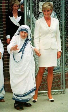 Principessa Diana e Madre Teresa