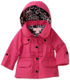 London Fog Baby-girls Infant Belted Trench Coat $33.60