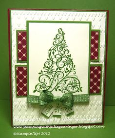 Stamping with Julie Gearinger: SU! Creative Crew Christmas In July!