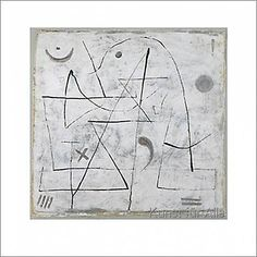 Paul Klee - Gedanken bei Schnee, 1933
