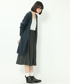 【セール】DAILYボタンレスカーディガン【niko and...】(カーディガン)|niko and...(ニコアンド)のファッション通販 - ZOZOTOWN
