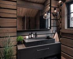 Log Home Interior Designs . Log Home Interior Designs . Rustic Cabin Bathroom, Cabin Bathrooms, Modern Cabin Interior, Modern Rustic Homes, Cabin Interiors, Home Pictures, Bathroom Interior Design, Log Homes, House Ideas