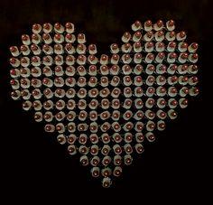 Love Is The Drug. New sculpture for an exhibition. #anthonymomanart #popartexhibition #syringes #momanartist #artpietrasanta #love #redheart