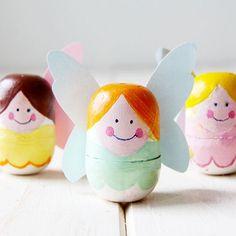 DIY Recycle Tooth fairy box from kinder surprise egg // Cajita de hadas para los dientes con huevos Kinder