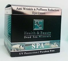 HB Dead Sea Anti Wrinkle Puffiness Reduction Eye Cream for Men 50ml * Visit the image link more details.