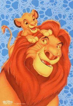 The Lion King Photo: Mufasa & Simba Le Roi Lion Film, Le Roi Lion 2, Roi Lion Simba, Le Roi Lion Disney, Simba Disney, Disney Cats, Lion King Simba, Disney Lion King, Disney Cartoons