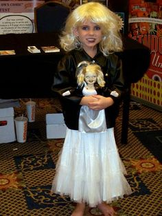 #BrideofChucky #Tiffany #SpookyEmpire2009 so many fantastic costumes at this #scifi & #horror convention