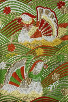 Japanese Obi fabric