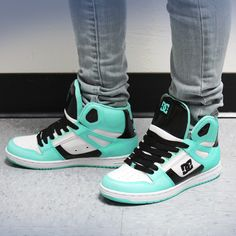 Tiffany, Black and White DC Shoes