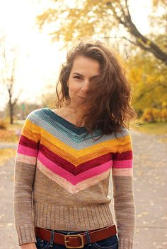Ravelry: Camaro pullover pattern by Tanis Lavallee