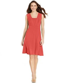 JM Collection JM Collection Sleeveless Empire A-Line Dress
