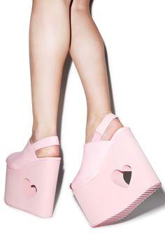 Y.R.U. X Nikki Lipstick BB Platform Sandals