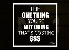 Are you guilty of this one thing? Small Business Development, The One, Sayings, Lyrics, Quotations, Idioms, Quote, Proverbs