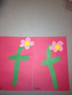 f is for flower.............lori