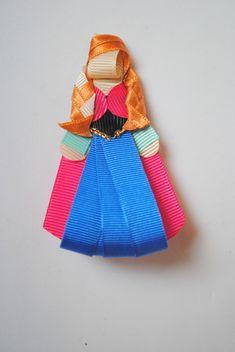 Presilha da Anna - Frozen  Bico de pato  Aprox. 8cm de altura R$ 20,00