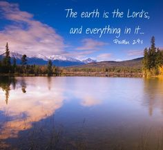 Happy #EarthDay! Fill-in-the-blank:  Praise God for creating __________.