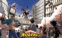 Tags: Scan, Manga Cover, Magazine (Source), Character Request, Weekly Jump, Horikoshi Kouhei, Official Art, Manga Color, Boku no Hero Academia, Midoriya Izuku, Kohei Horikoshi