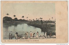 Laundry Day on the Rio N'Gunza, Angola, early 20th c.