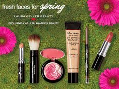 Let your natural beauty bloom with this vibrant Garden Party from @Laura Geller Beauty. Featuring an assortment of best-loved products and soon-to-love new ones, this fresh-picked collection is a must-have! ONLY at ULTA!