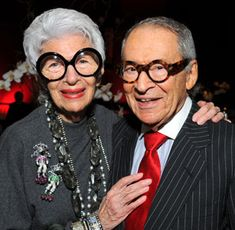 Iris has been married to Carl Apfel for 63 years. Description from lifestyle-therapy.blogspot.com. I searched for this on…