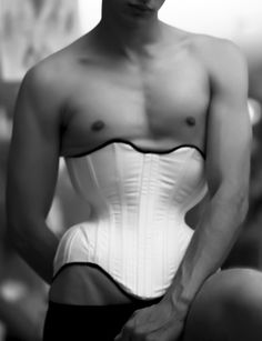 Trained In Proper: Corsetry and The Male Form